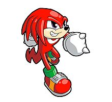Sonic the Hedgehog - Knuckles Photographic Print
