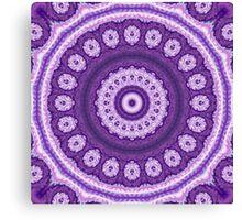 Mystical Violet Blossom Canvas Print