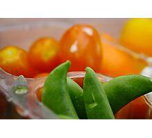 Colorful veggies Photographic Print