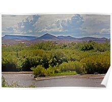 New Mexico mountains Poster