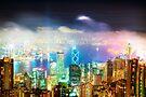 Hong Kong Night Lights by Paul Thompson Photography