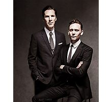 Tom & Ben  Photographic Print