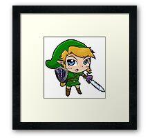Link Chibi Framed Print