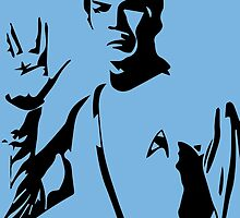 spock  by Octopusiscool
