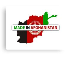 made in afghanistan Canvas Print