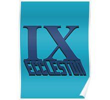 Doctor Who: IX - Eccleston Poster