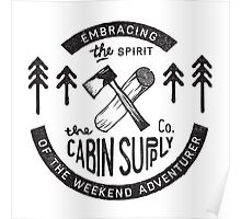 Cabin Supply Poster