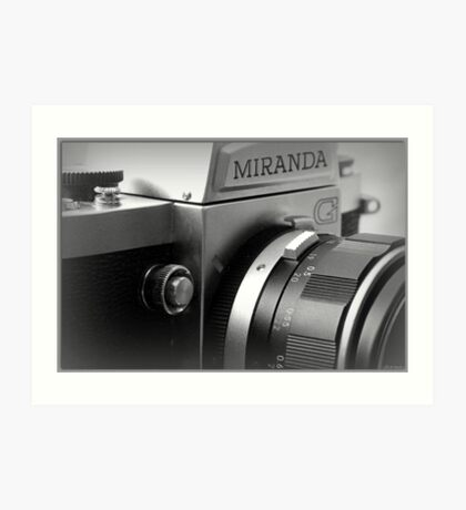 Camera Shutter Button Art Print