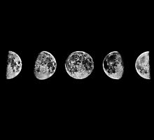 Moon Phases by sarahisretarded