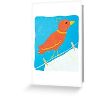Sister Bird Greeting Card