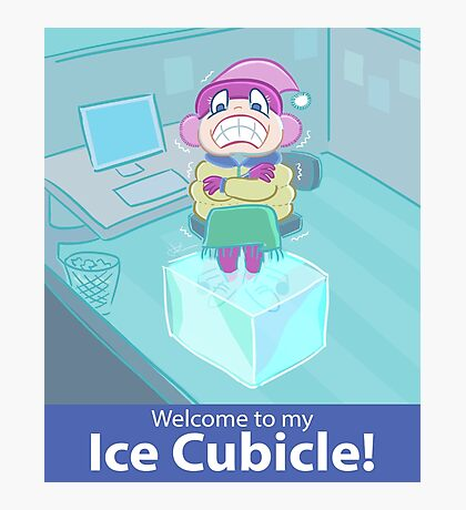 Ice Cubicle Photographic Print