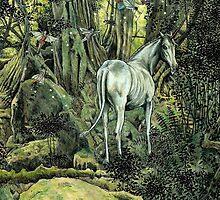 Unicorn & Pixies by Mike Lowe