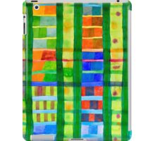 Coloured Fields With Bamboo iPad Case/Skin