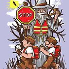 Hobbit Crossing by Jonah Block