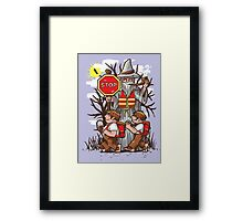 Hobbit Crossing Framed Print