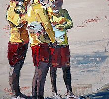 Three Lifeguards by Claire McCall