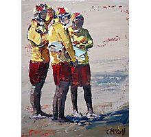 Three Lifeguards Photographic Print