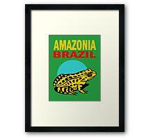 AMAZONIA, BRAZIL Framed Print