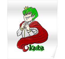 Kaiba green hair Yu-Gi-Oh! Poster