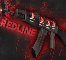 Ak-47 | Ibuypower redline by Gamers