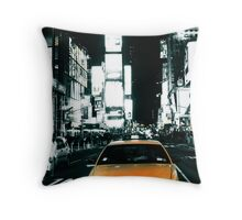 Yello Juicy Cab Throw Pillow