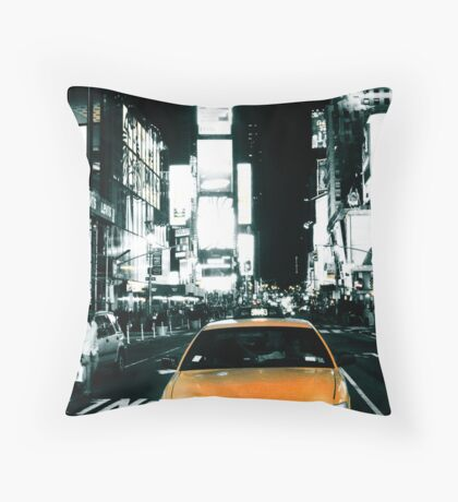 Yello Juicy Cab Throw Pillow