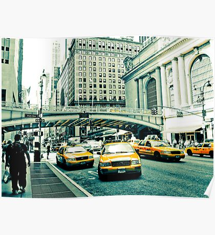 Yellow Cabs Poster