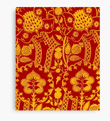 BROCADE COLOUR-2 Canvas Print