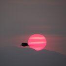 Secretful sunset -  Puesta del sol misteriosa by Bernhard Matejka