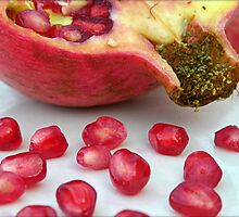Pomegranate Seeds by LisaMarie Miranda