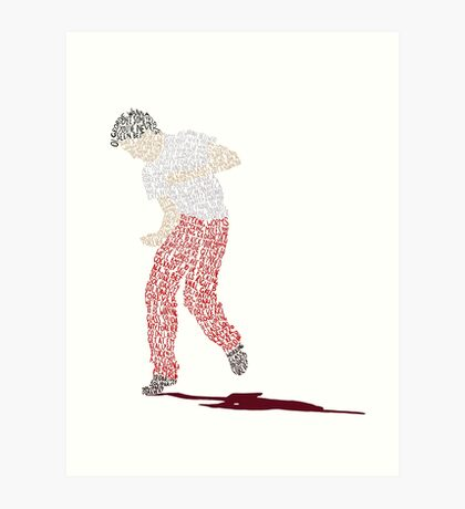 Billy Elliot Art Print