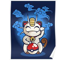 Lucky Meowth Poster