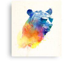 Sunny Bear Canvas Print