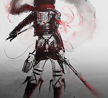 Mikasa Art Hard Pen by Revoltec17