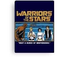 Warriors of the Stars Canvas Print