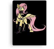 My Little Pony - MLP - FNAF -  Fluttershy Animatronic Canvas Print