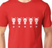 Liverpool FC Champions League Unisex T-Shirt