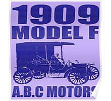 A.B.C MOTORS MODEL F Poster