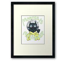 Master is My Master! (gasmask ver) Framed Print