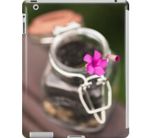 Little life in a Jar iPad Case/Skin