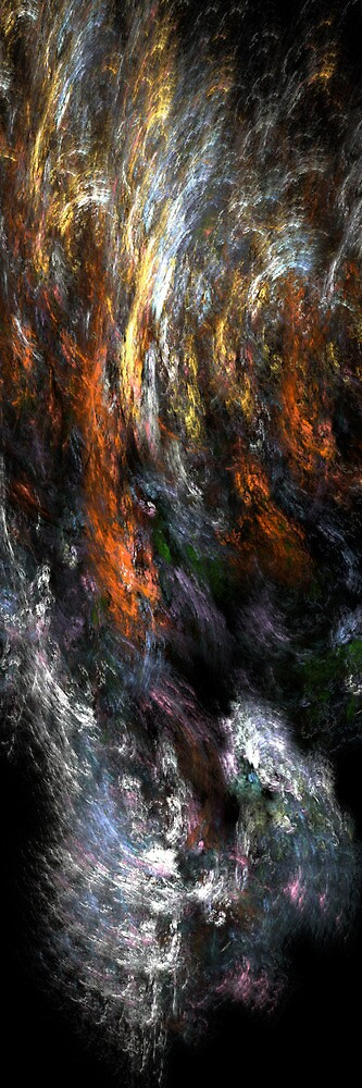 Flashes of summer lightning by Benedikt Amrhein