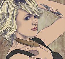 Miranda Lambert Portrait A by briandahms