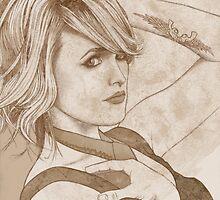 Miranda Lambert Portrait B by briandahms