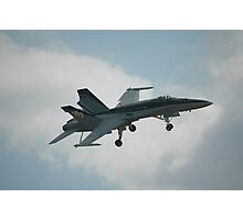F/A-18A Hornet @ Temora Warbirds Airshow 2011 Photographic Print