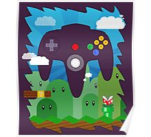 N64 LAND - CONTROLLER Poster