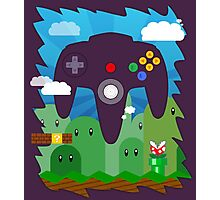 N64 LAND - CONTROLLER Photographic Print