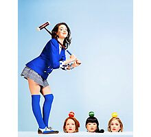 Heathers the Musical Cover Photographic Print