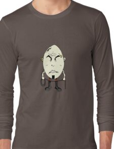 Rotten Egg #2: Humpty Doomdy Long Sleeve T-Shirt