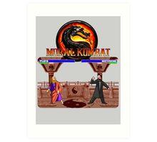 MORAL KOMBAT Art Print