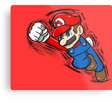 Mario Metal Print